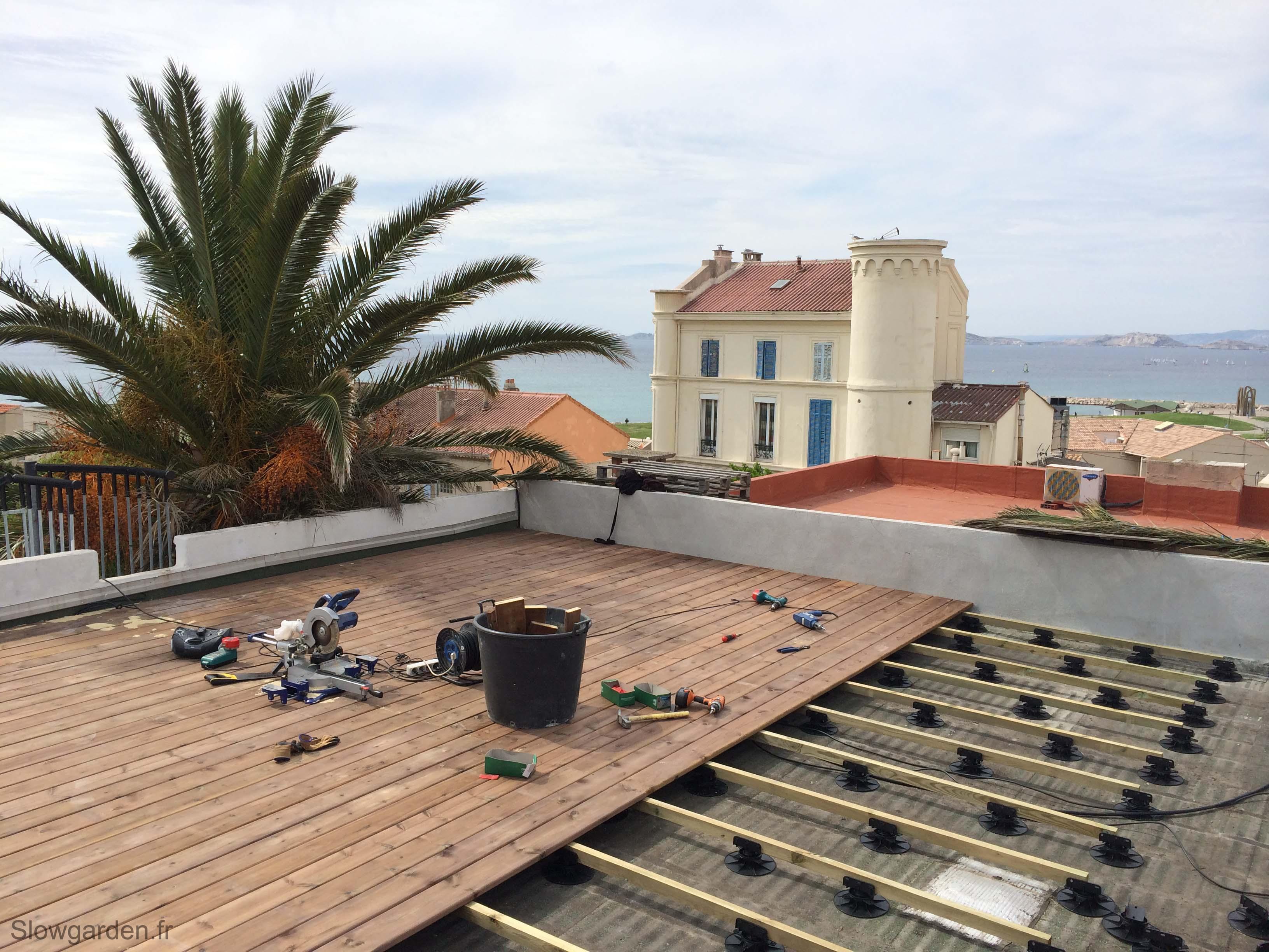 Quelques astuces pour faire un toit terrasse à Marseille - City Marseille